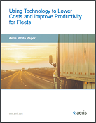 using technology to lower costs and improve productivity for fleets cover